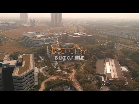 BSD CITY IS LIKE OUR HOME// SINARMAS LAND DRONE VIDEO COMPETITION 2019