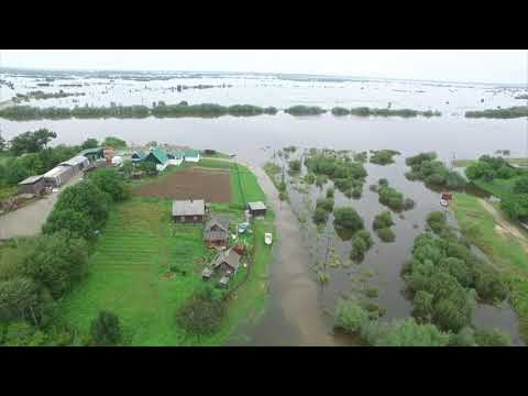 Dramatic Drone Video Shows Devastating Flooding In Russia
