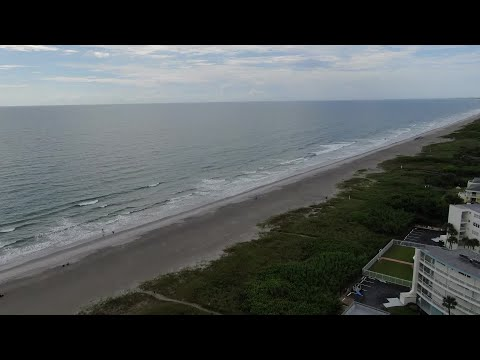 DRONE VIDEO: Cocoa Beach ahead of Hurricane Dorian