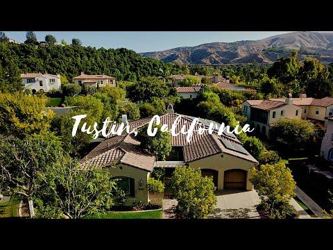 REAL ESTATE DRONE VIDEO:  Tustin, CA