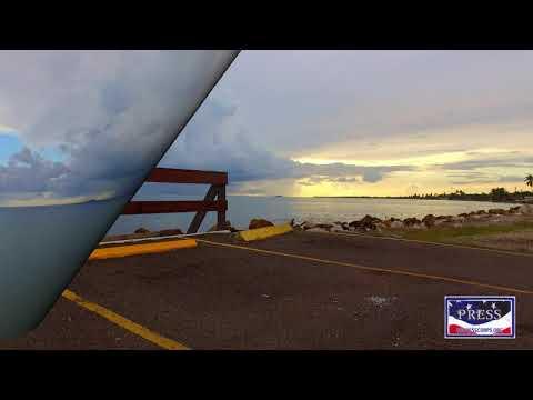 Sunset Juana Díaz, Puerto Rico Drone Video (DJI Phantom 3)