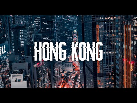 Magic of Hong Kong. Mind-blowing cyberpunk drone video of the craziest Asia's city by Timelab.pro