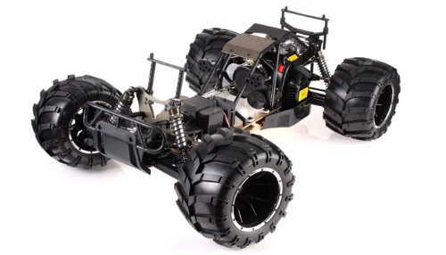 1/5th Giant Scale Exceed RC Hannibal 30cc Gas-Engine Remote Controlled  Off-Road RC Monster Truck w/ 2 4Ghz TX 100% RTR (COLOR VARIES- SENT AT  RANDOM)