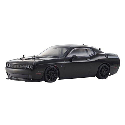 Kyosho Dodge Challenger SRT Hellcat Fazer RC Car, Black