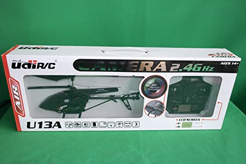 New with Video Camera! UDI U13A 3 Channel 2 4GHz Metal RC