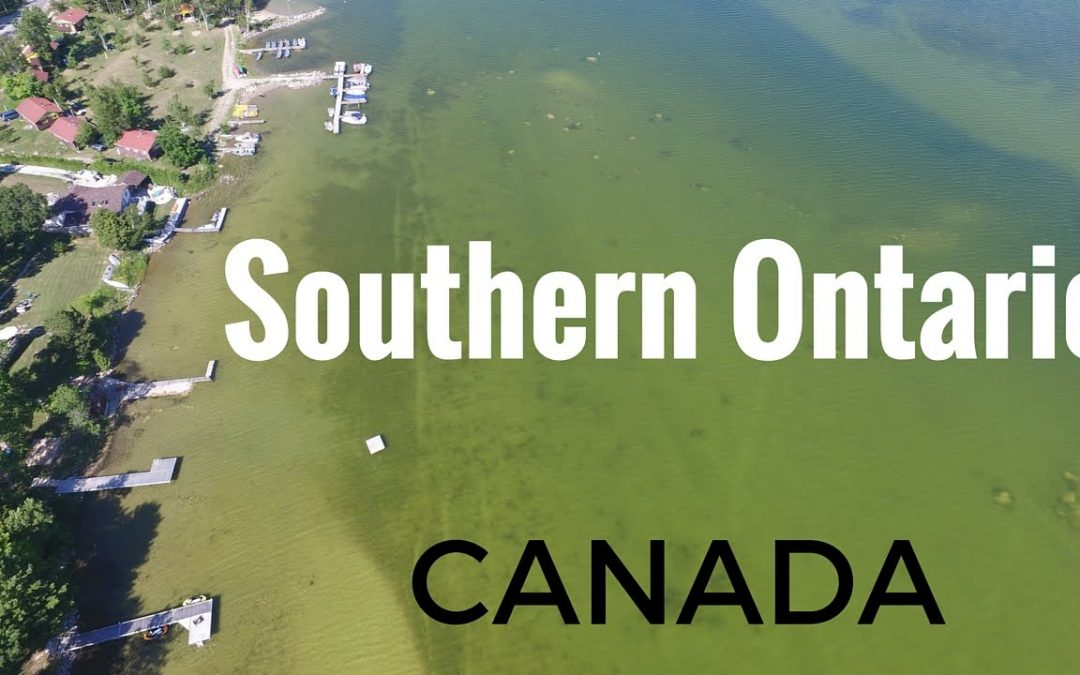 Beautiful Southern Ontario Aerial Drone Video Tour – 4K