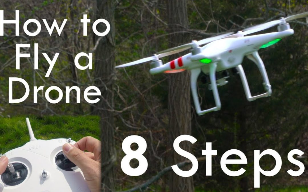 How to Fly a Drone (& NOT Crash) – in 4K!