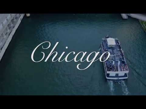 Chicago Skylines – 4k Drone Aerial Video