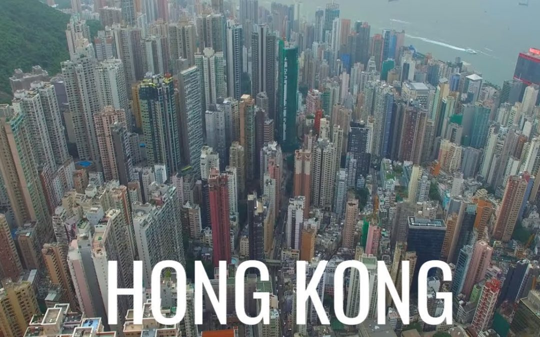 Hong Kong 香港  Aerial Drone Video Part 3 中国 – China 4K