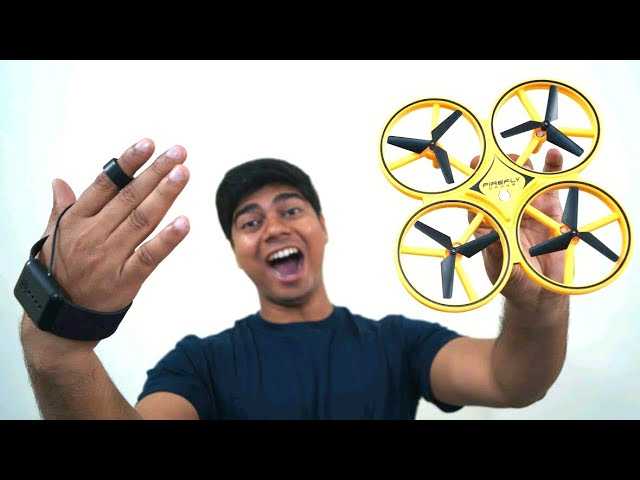 Amazing Hand Control RC Drone | UNBOX & TEST!! Gravity Sensor flying Drone