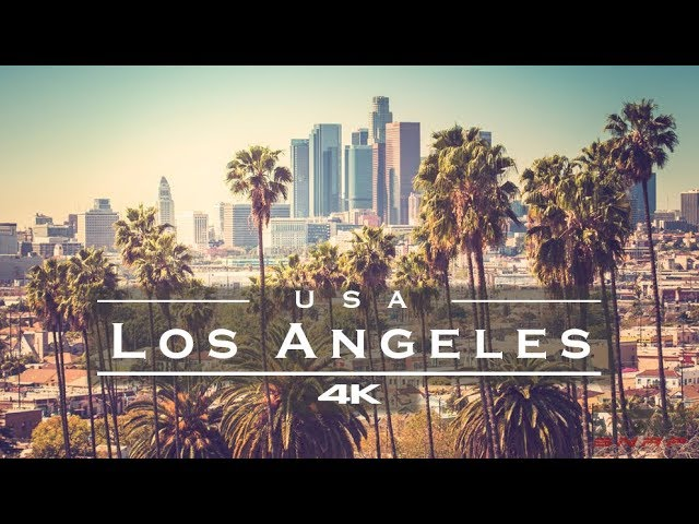 Los Angeles, USA 🇺🇸 – by drone [4K]