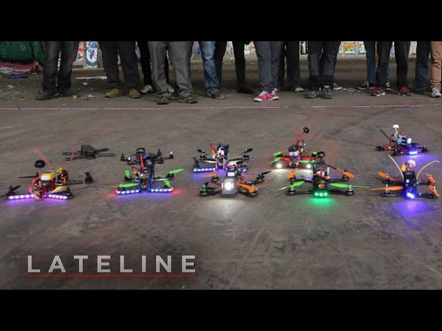Drone racing: First-person view (FPV)