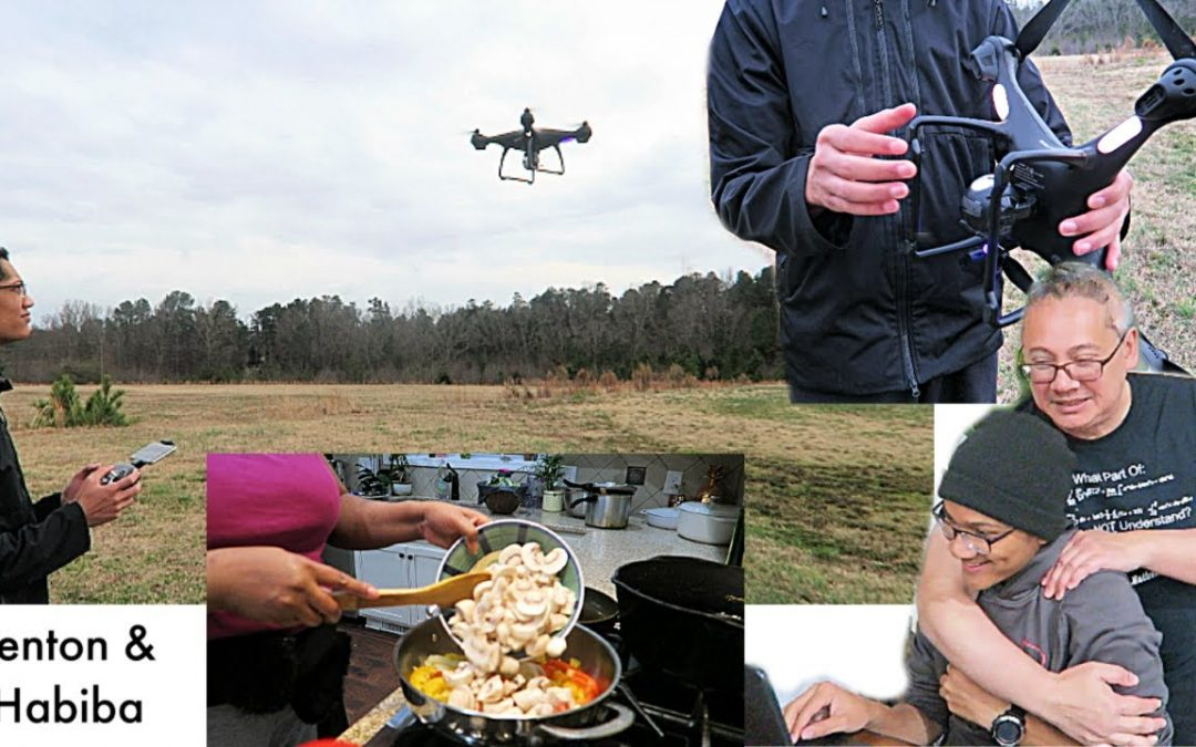 HOW TO FLY A DRONE + WHAT A DOCTOR COOKS at Home  VLOG