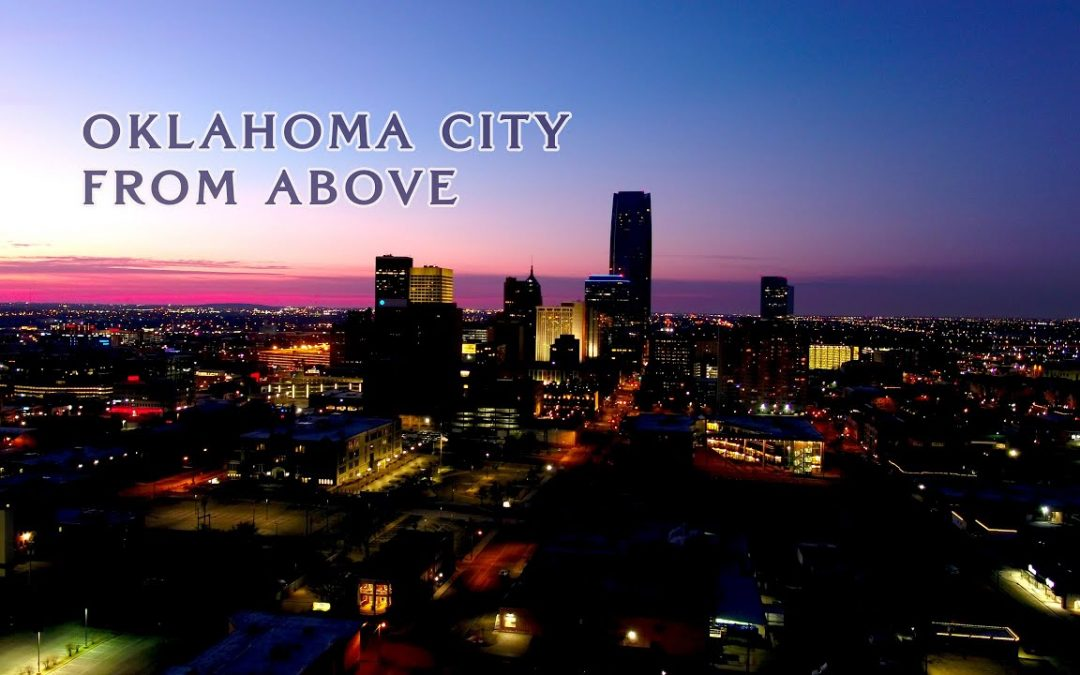 Oklahoma City From Above – 4K Aerial Drone Video