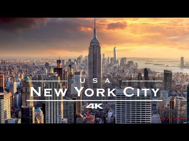 New York City (NYC), USA 🇺🇸 – by drone [4K]