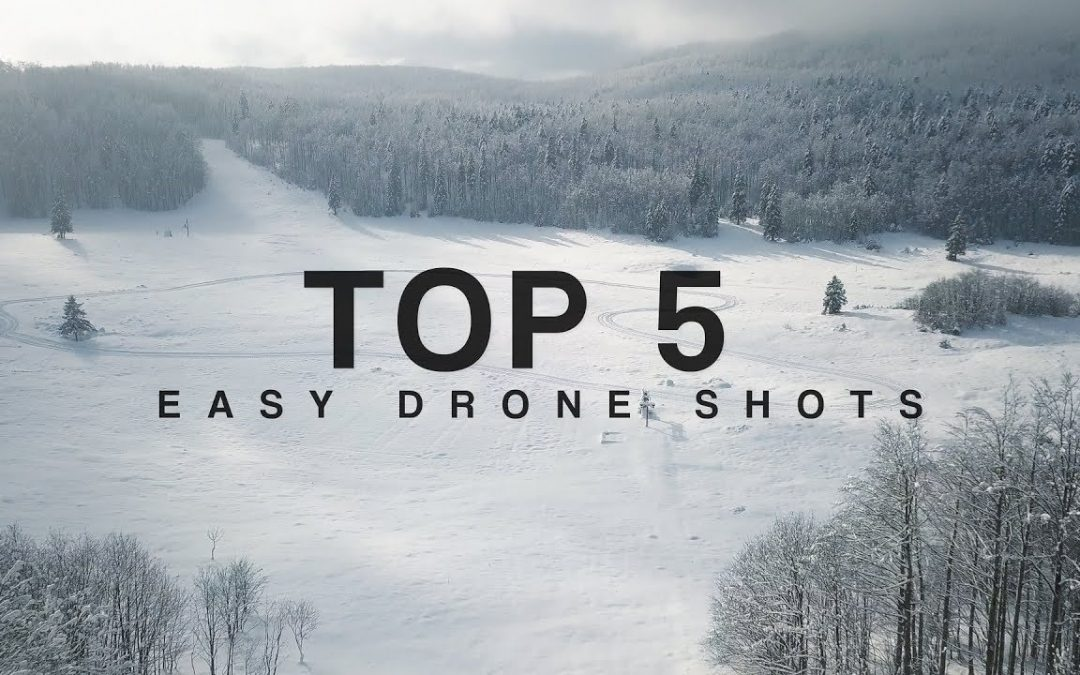 TOP 5 Easy Drone Shots  TUTORIAL | HOW TO film awesome AERIAL shots?