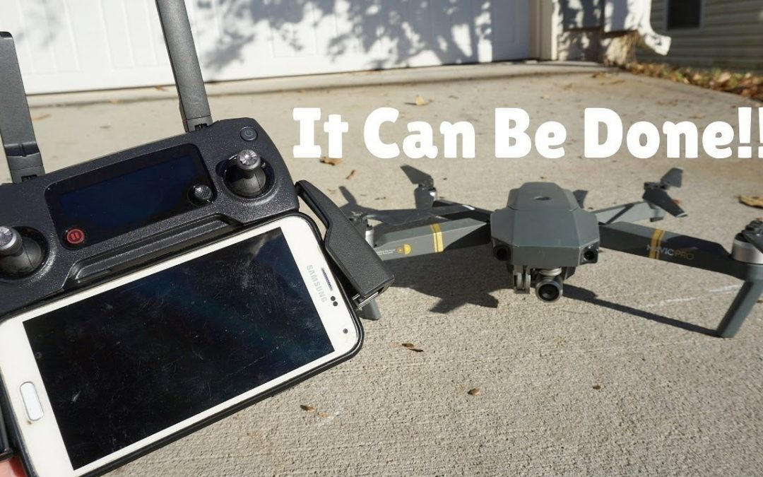 How To Fly a DJI Drone with an Android Phone!