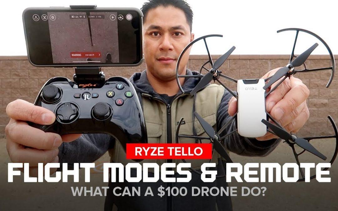 Ryze Tello Drone – Flight Modes and Bluetooth Remote Controller