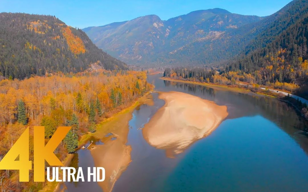 4K Aerial Views of Canada, British Columbia – Aerial Drone Video – Short Preview