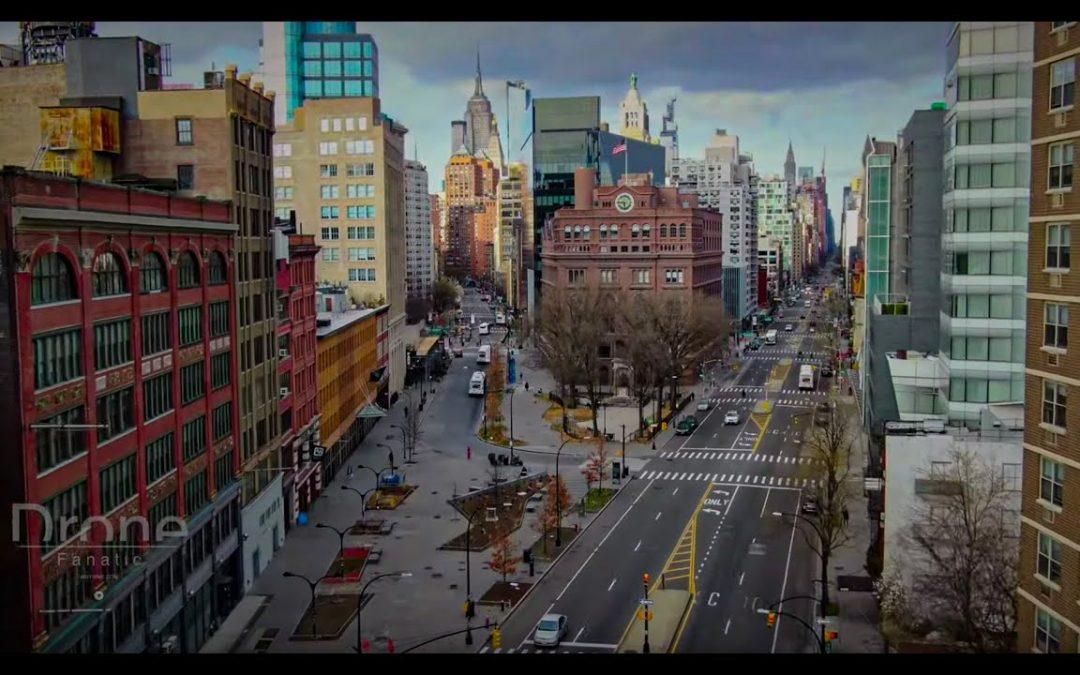 Drone Footage NYC Coronavirus Pandemic
