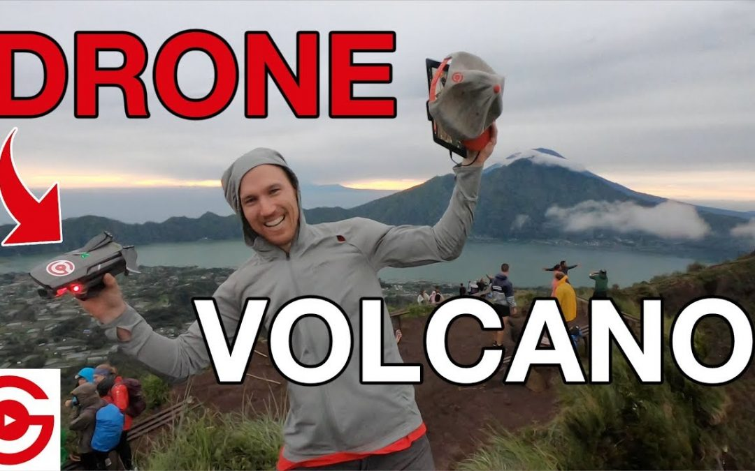 How NOT to Fly a Drone on an Active Volcano