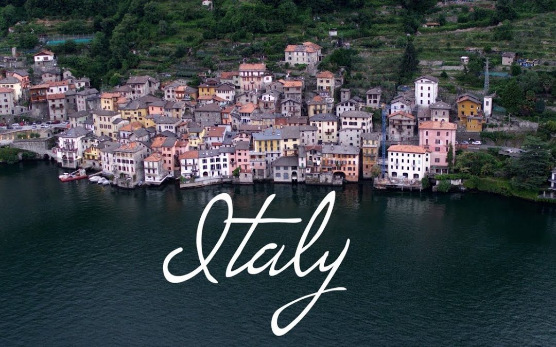 Italy, A Glimpse into beauty – 4K Aerial Cinematic Drone Video