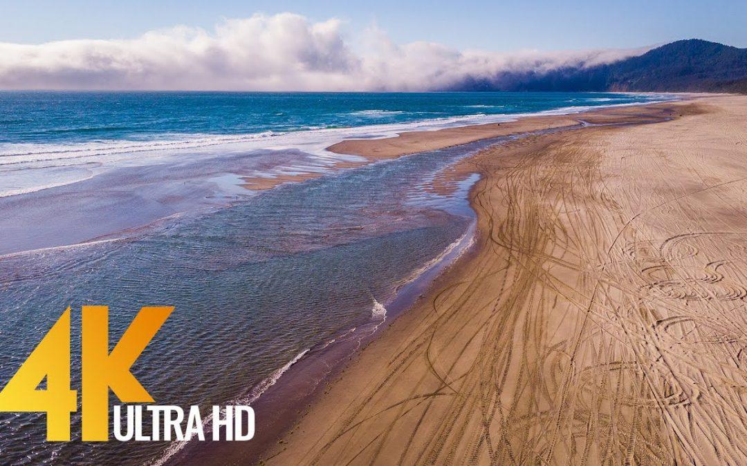4K Drone Footage – Bird's Eye View of Coastal Oregon, USA – 2 Hour Ambient Drone Film