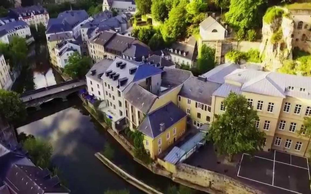 Luxembourg from the sky – DJI Phantom 3 drone video
