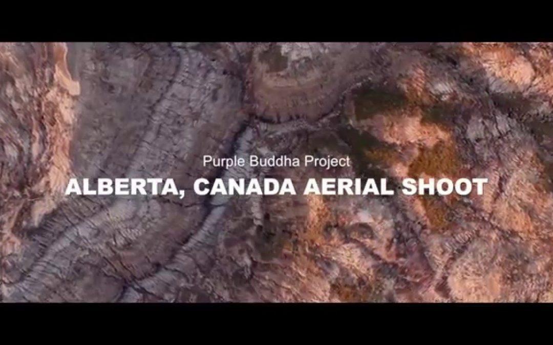 Aerial Drone Footage of Alberta Canada