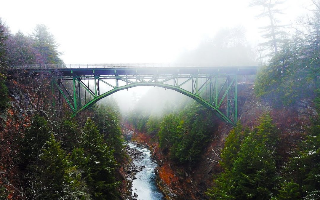 DJI MAVIC PRO Unedited 4K Sample Drone Footage (Aerial Shots of Vermont)