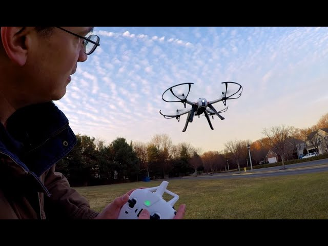 How to Fly a Quadcopter Drone (Lesson 1 (For Beginners)
