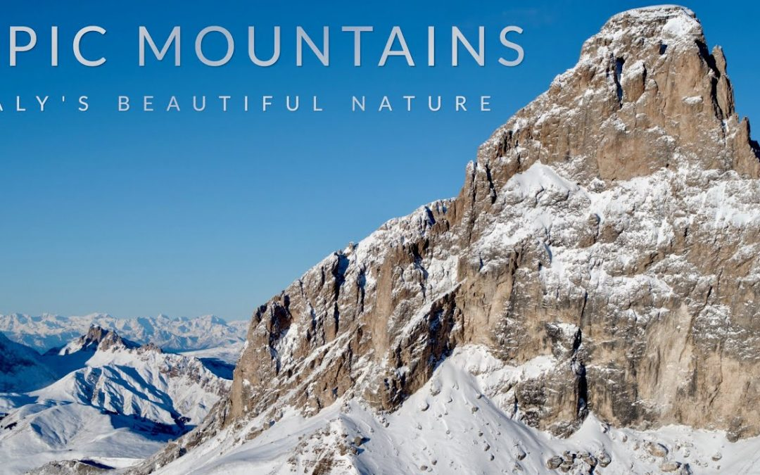 The epic Italian mountains by Drone – 4K / 5K 60FPS aerial video