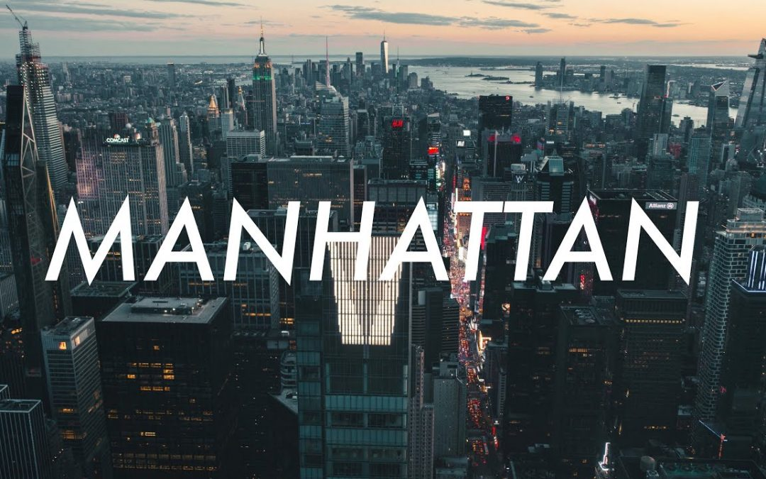 33 Minutes of beautiful MANHATTAN Aerial Drone Stock Footage in 4K
