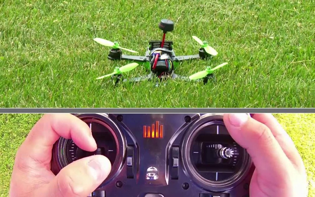 Basics of Drone Flight – Takeoff, Controlled Hovering and Landing