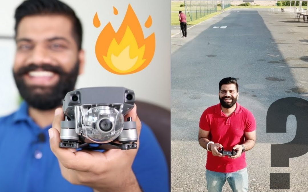 DJI MAVIC PRO Unboxing and First Flight – Drone Training in Dubai