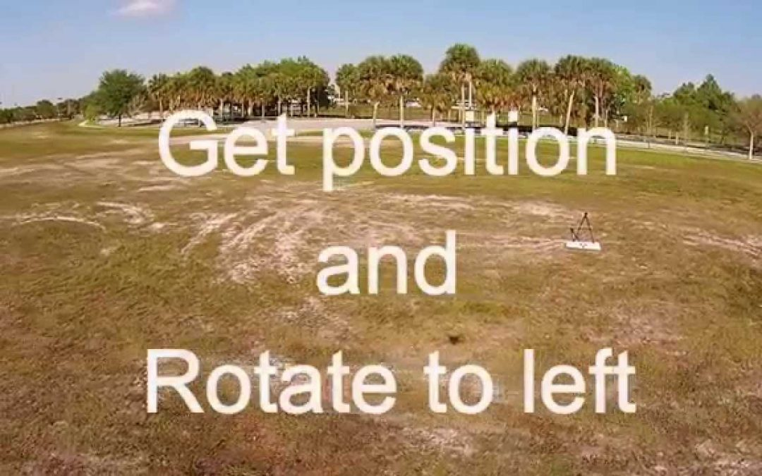 How to fly a perfect circle around an object with your RC drone