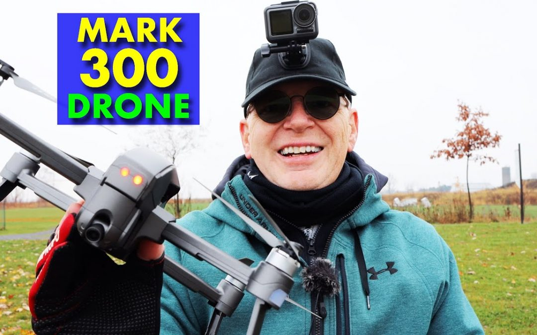 MARK 300 Camera Drone – Cool Design – Review