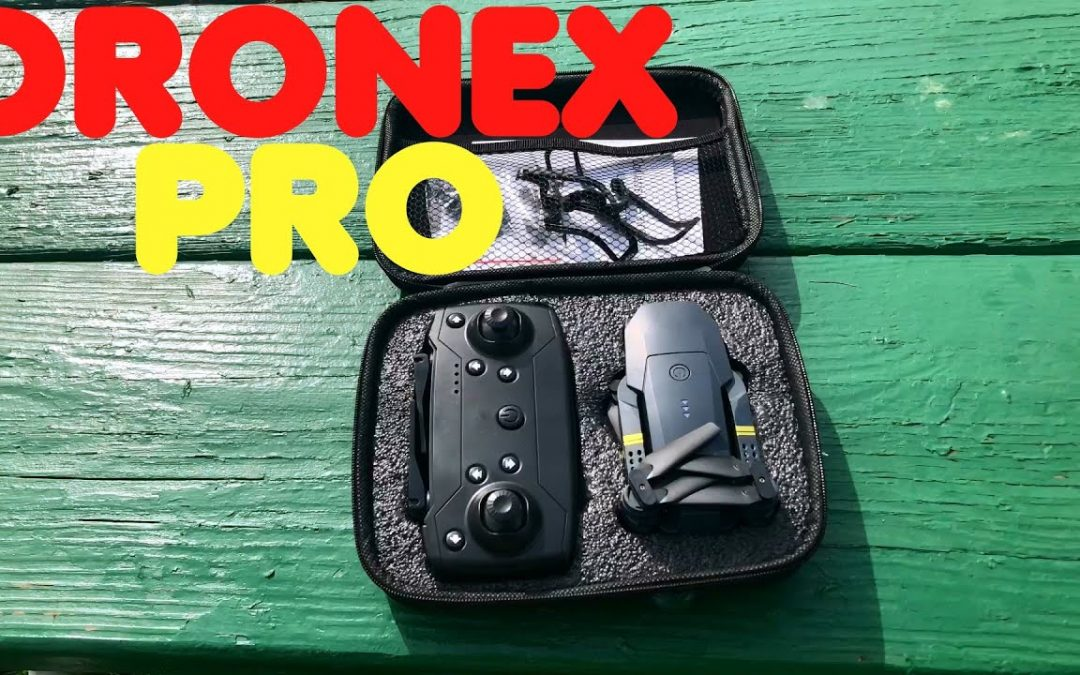 DroneX PRO Drone Setup Flight and Review