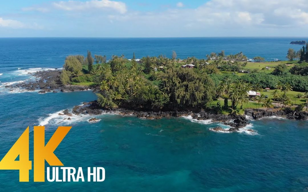 Flying Over Maui Island, Hawaii – 4K Aerial Drone Video + Music – Short preview