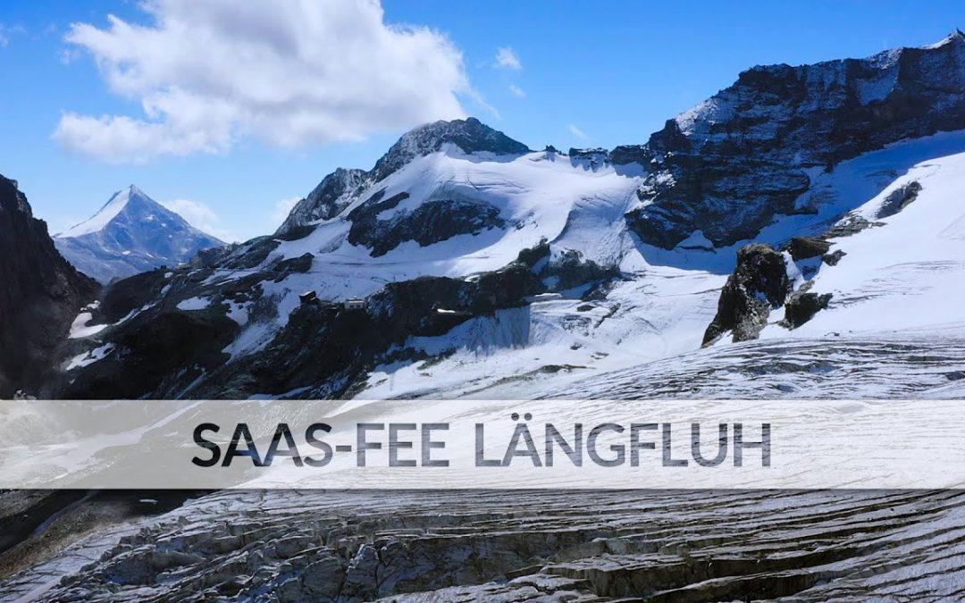 Saas-Fee Längfluh | Exploring Switzerland 22 (Aerial Drone Video, DJI Mavic 2 Pro, 4K)