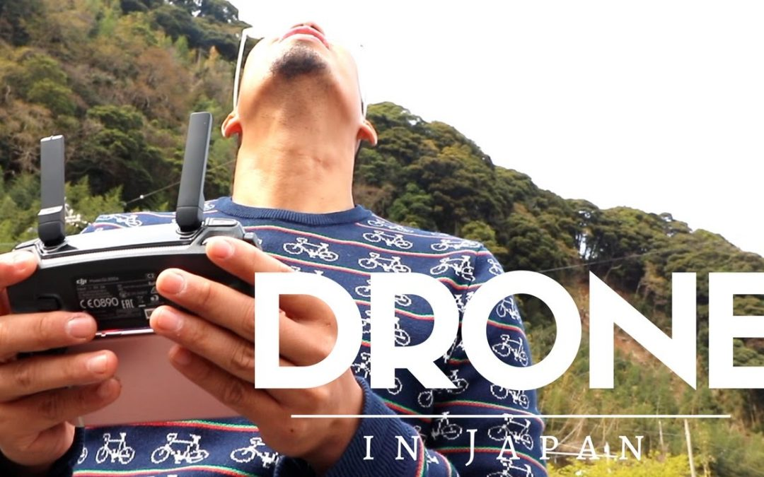 flying a drone in japan | DJI MAVIC PRO