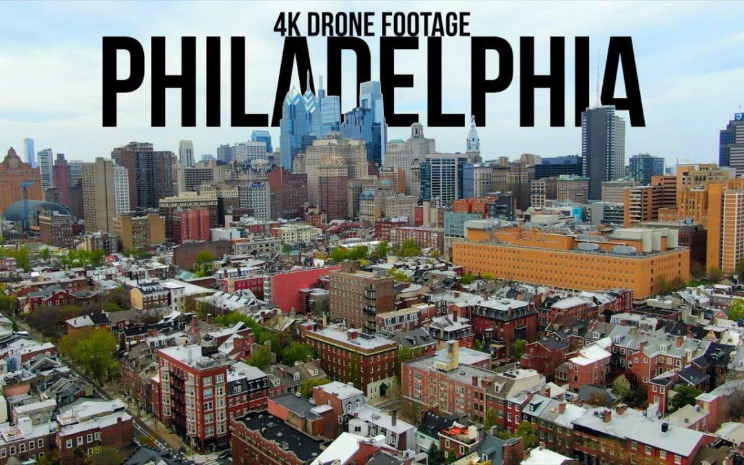 Philadelphia, Pennsylvania🇺🇸 |4K| Aerial Drone Footage