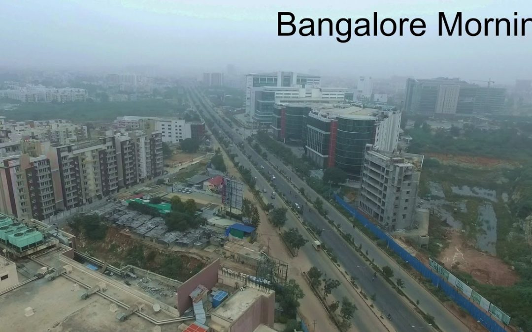 Bangalore Morning #1 | Aerial Drone Video | India |