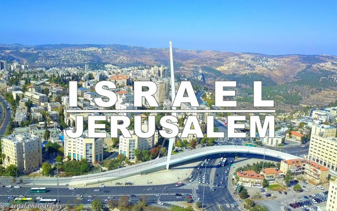 Jerusalem – the capital of Israel aerial drone video | ירושלים מהרחפן