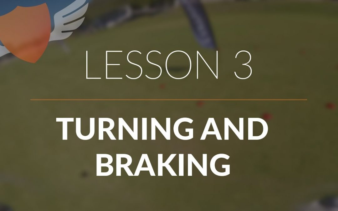 How-to Fly FPV Quadcopter/Drone // Beginner: Lesson 3 // Turning and Braking