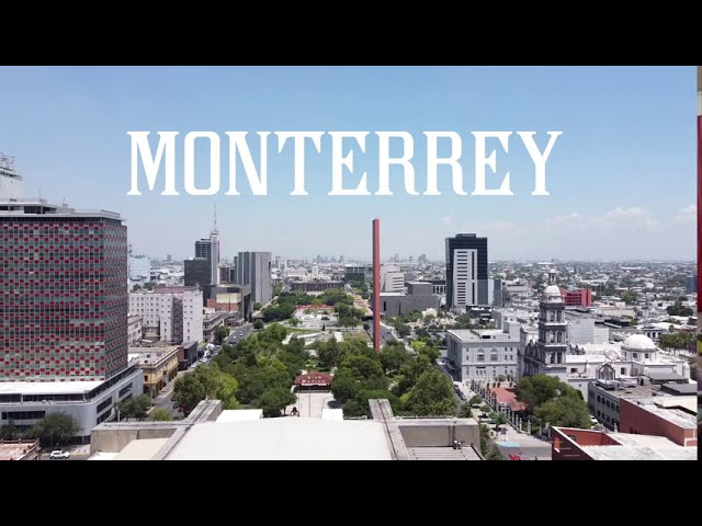 Monterrey, MEXICO – Aerial / Drone Video 2020