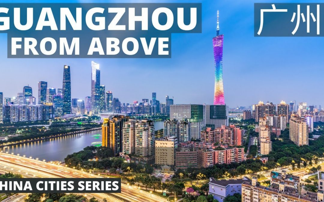 Guangzhou from Above | Epic 4K Drone Footage | Guangzhou Aerial Tour