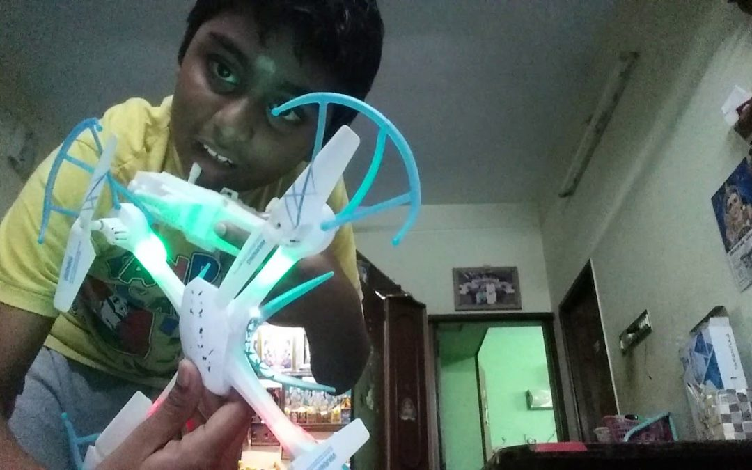 How to fly a drone in tamil