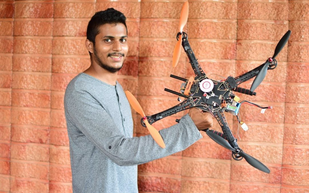 FLYING A HOMEMADE DRONE !!! + ARE DRONES BANNED IN INDIA??? Drone QnA