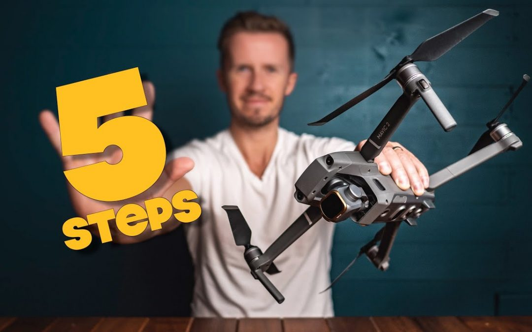 5 STEPS To PRO Aerial Footage With ANY Drone!